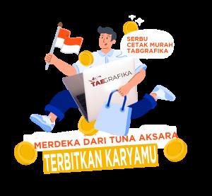 TAB Grafika Yogyakarta, spesialis desain, layout, dan cetak buku/majalah/jurnal/laporan anda dalam format dan tampilan yang menarik. Kami senantiasa berusaha menghadirkan pelayanan -dan siap menjadi partner- terbaik bagi anda. Hubungi kami melalui nomor +62 856 4709 7936, dan anda akan mendapatkan informasi secara detail tentang segala kebutuhan cetak anda.